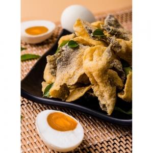 Snack Da cá Trưng Muối Phô Mai Singapore