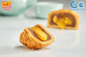 Bánh Trung Kim Sa  ĐẬU ĐỎ Trứng Muối Tan Chảy